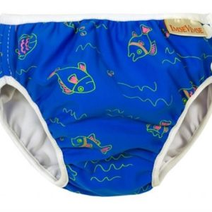 ImseVimse badebleie blå fisk