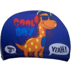 Badehette til barn - dinosaur