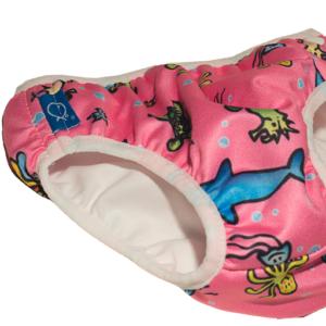 Badebukse og badebleie til barn - herlig badetøy
