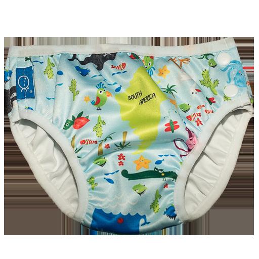Badebleie barn Blå pacific ocean