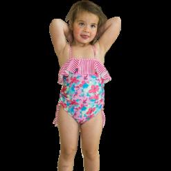 Blomst badedrakt for barn