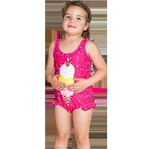 Iskrem badedrakt for barn