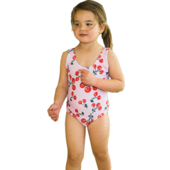 Kirsebær badedrakt for barn