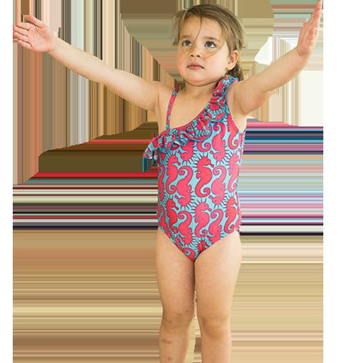 Sjøhest badedrakt til barn