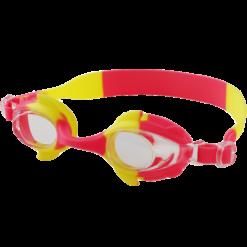 Svømmebriller barn rød og gul - squatina.no