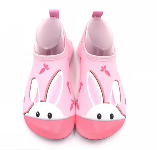 Badeko med rosa kanin motiv