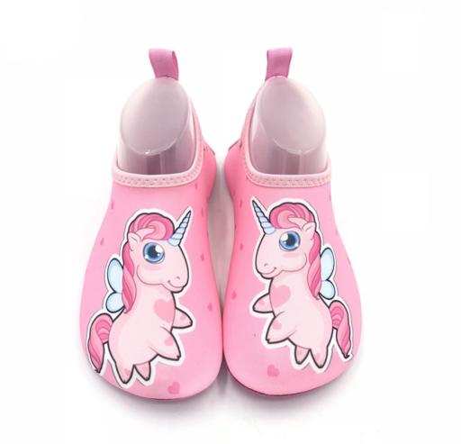 Badesko rosa unicorn