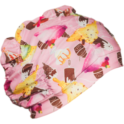 Badehette turban med cupcakes